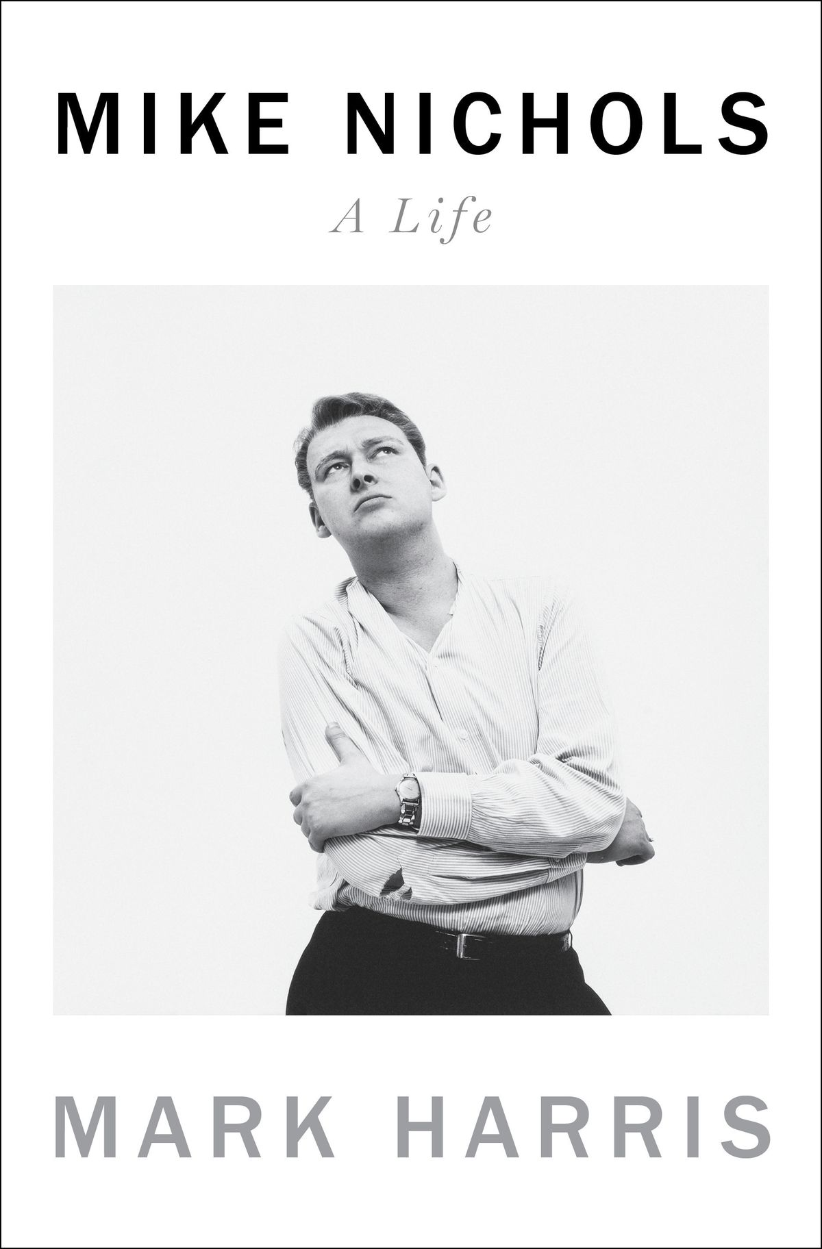 """This image released by Penguin Press shows """"Mike Nichols: A Life"""" by Mark Harris."""