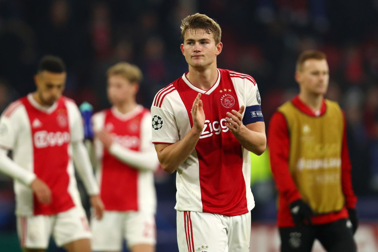 Report: Juve to use UCL fixture with Ajax for Matthijs de Ligt talks