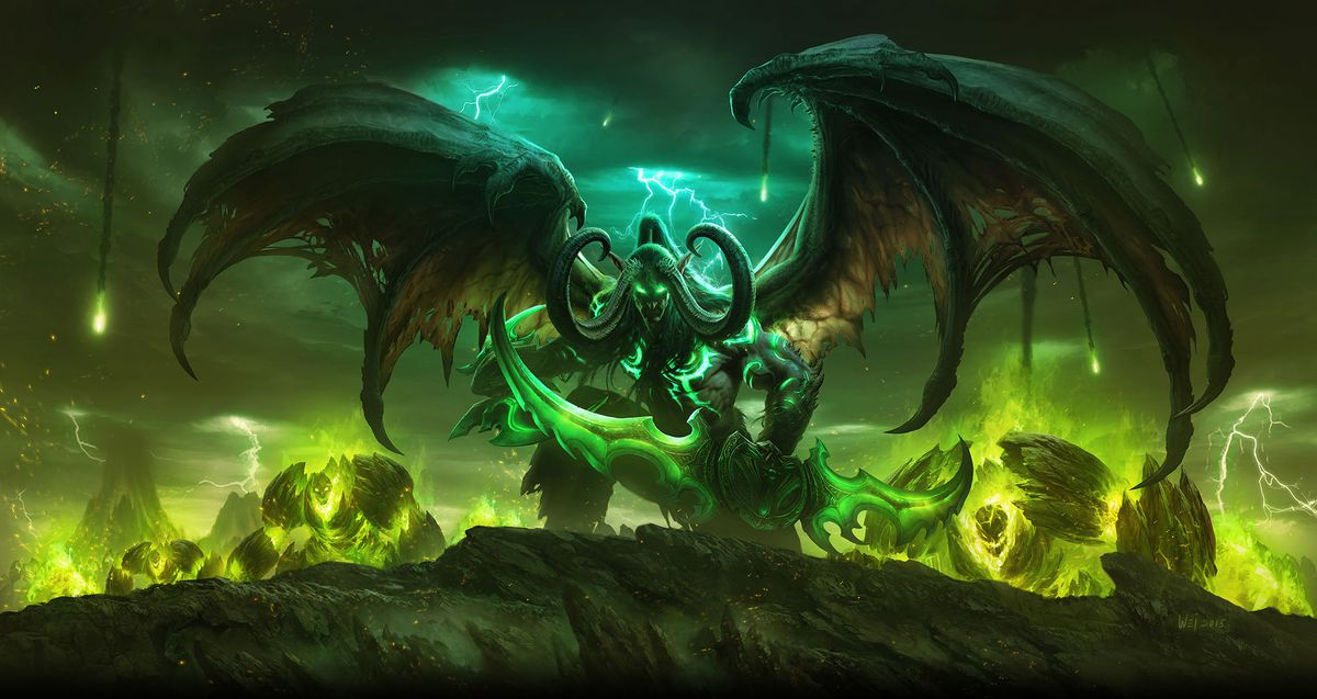 World of Warcraft: Legion art