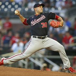 Paolo Espino, Nationals starting pitcher on Monday