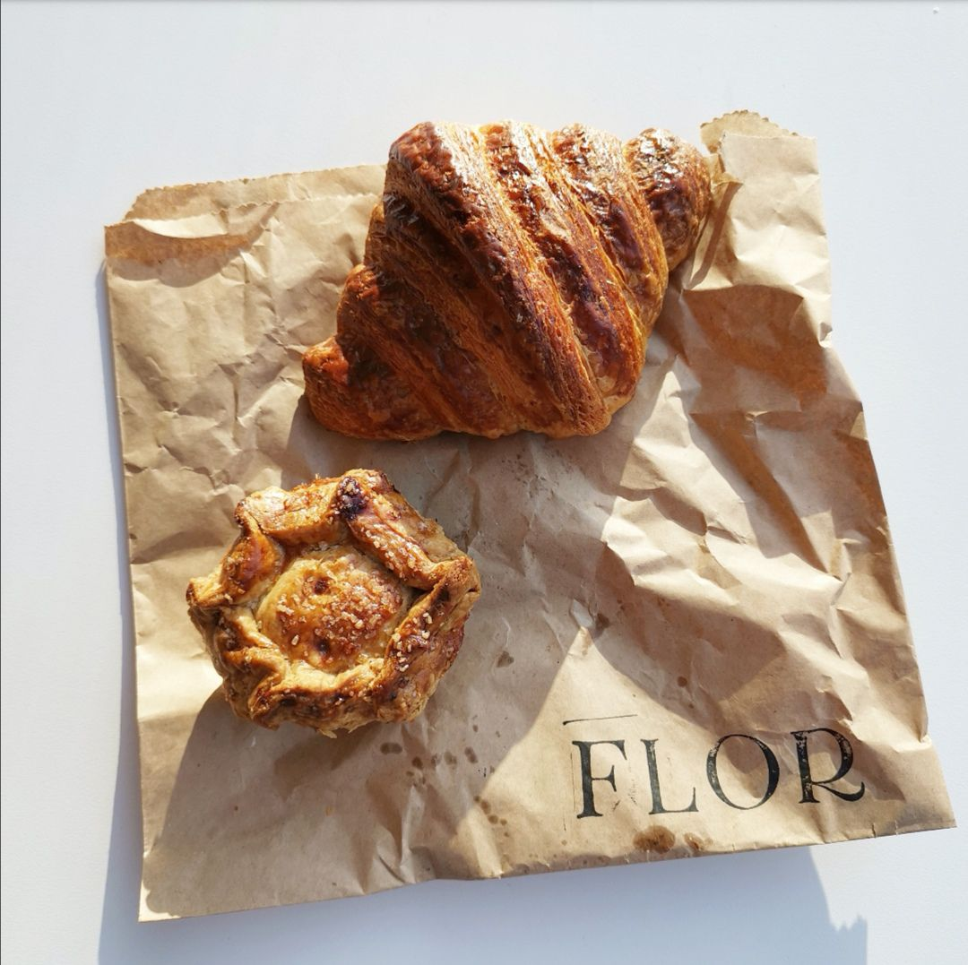 Croissant at Flor was one of the best things Eater writers ate in London this week