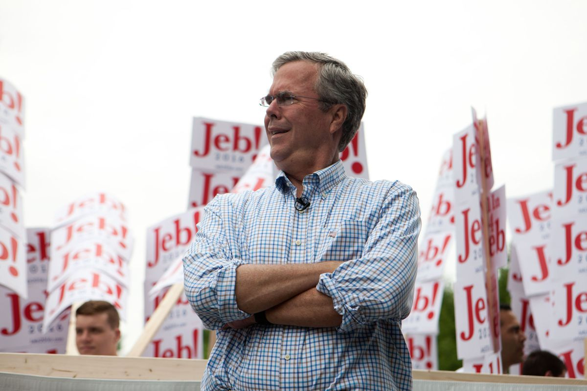 Nobody else's Super PAC even came close to the remarkable and historic haul of Jeb Bush's Right to Rise USA.