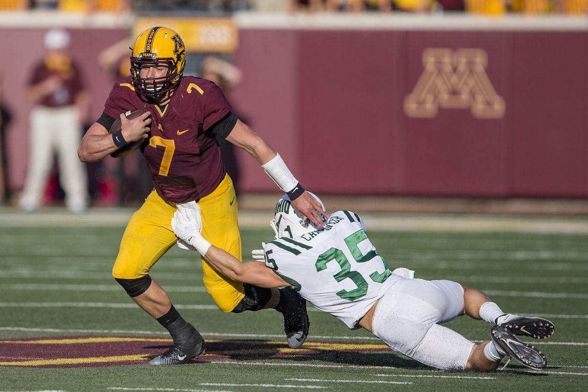 Mitch Leidner is the key to a successful Gopher season