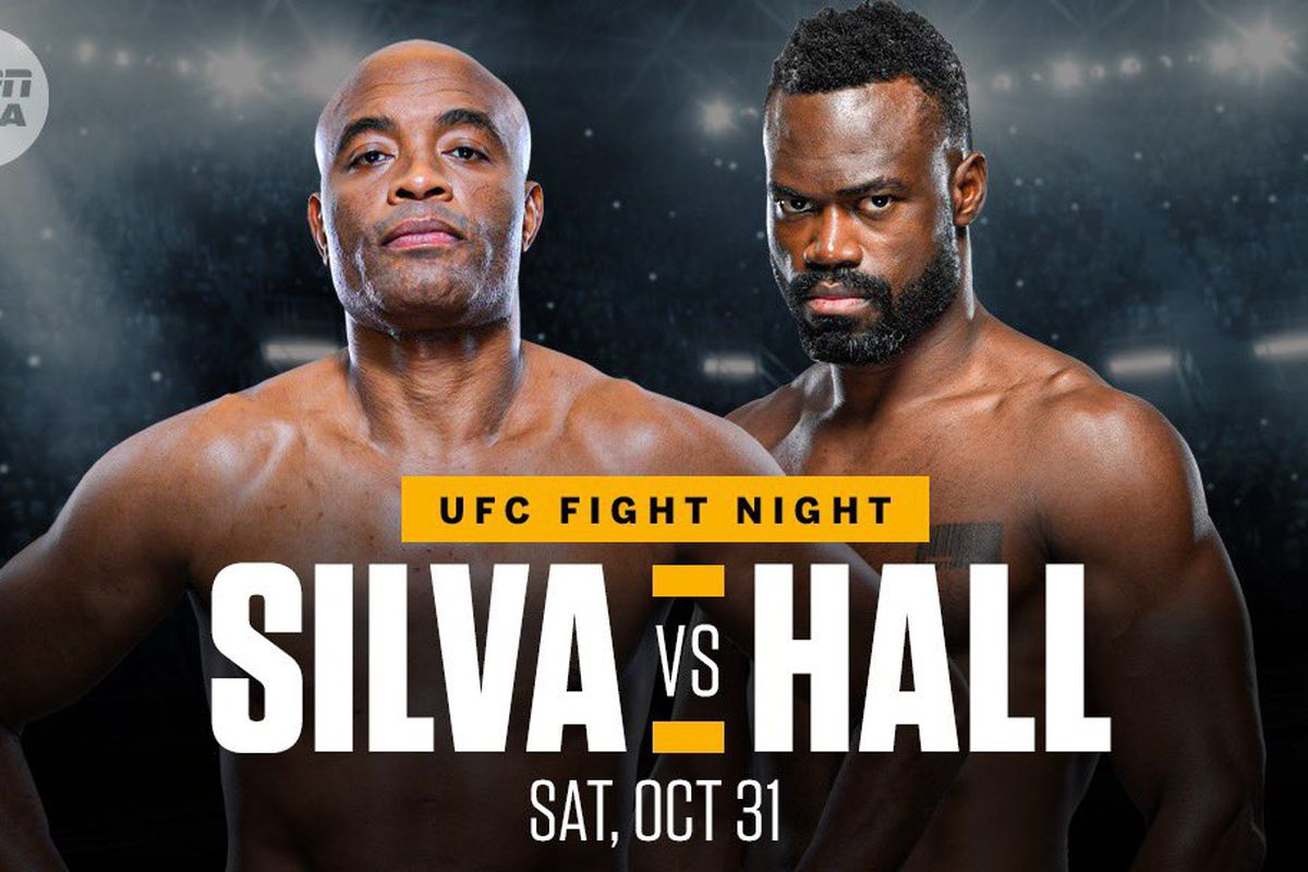 'Silva vs Hall' on Oct. 31