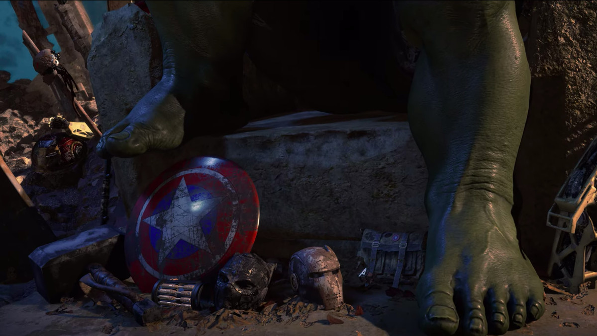 Maestro with Avengers relics
