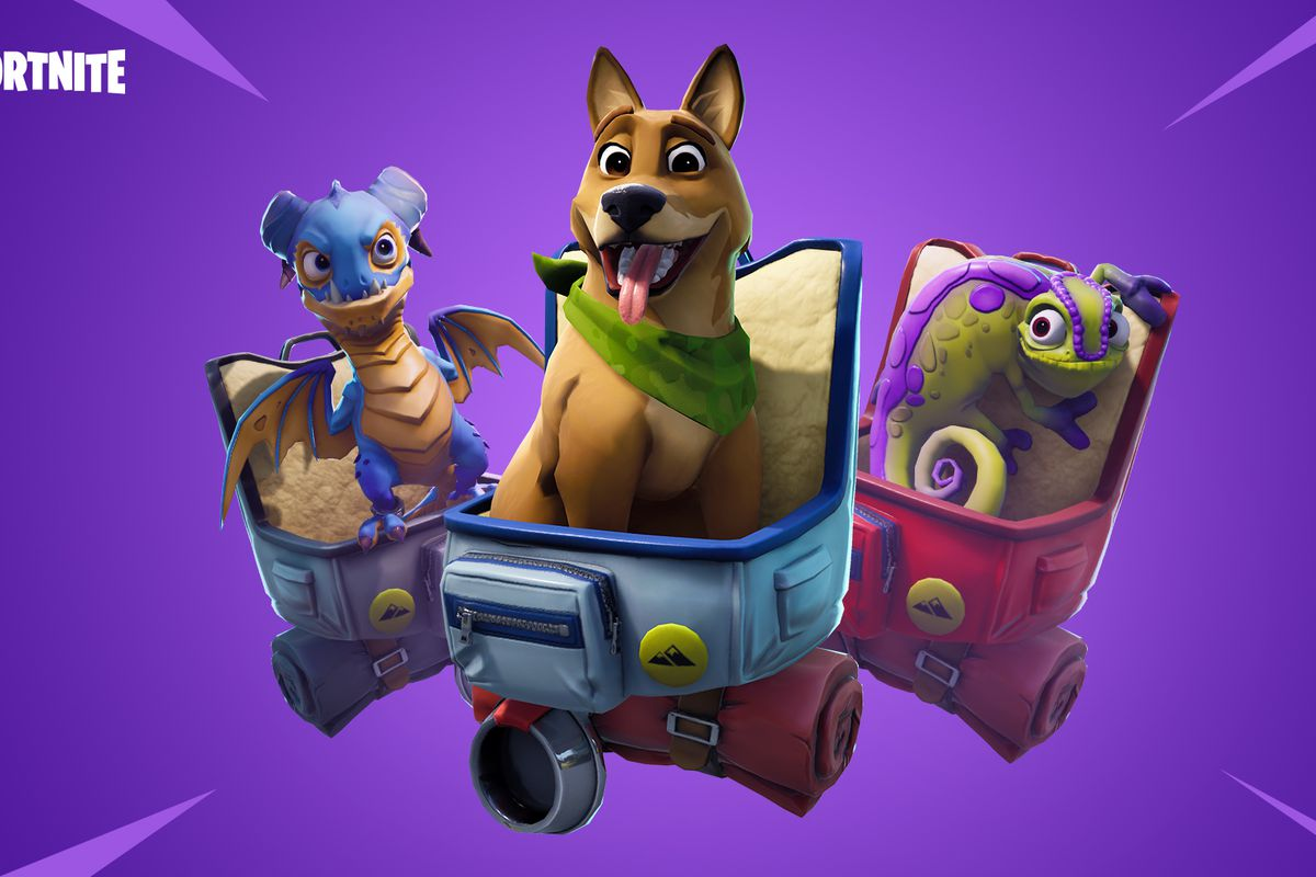 Fortnites New Update Lets You Pet Dogs And Other Animals