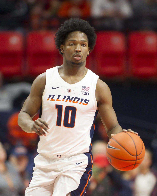 NCAA Basketball: Indiana at Illinois