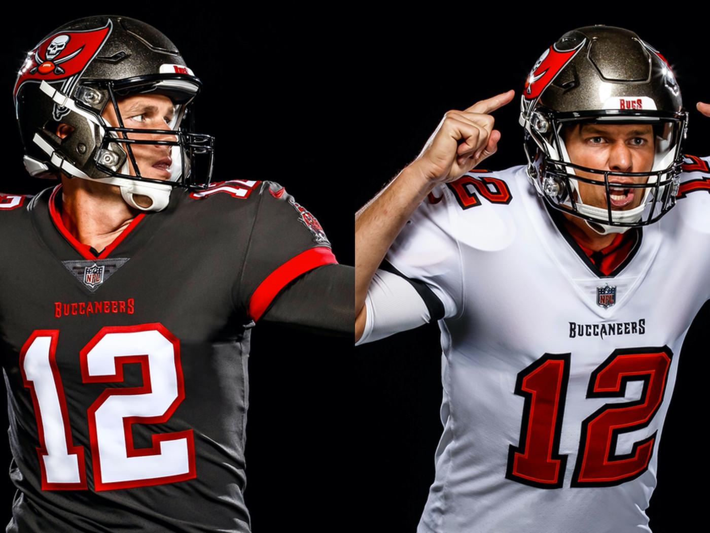 Here's Tom Brady in a Bucs jersey and it's actually good ...