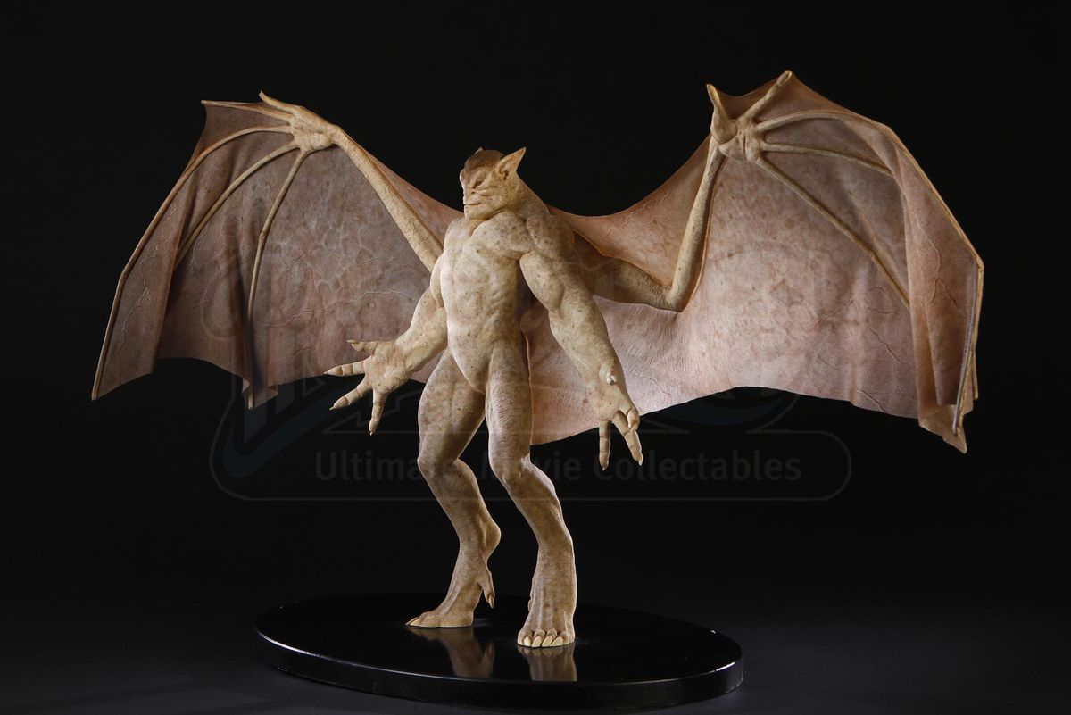 Rick Baker's maquette of Goliath from the Gargoyles movie