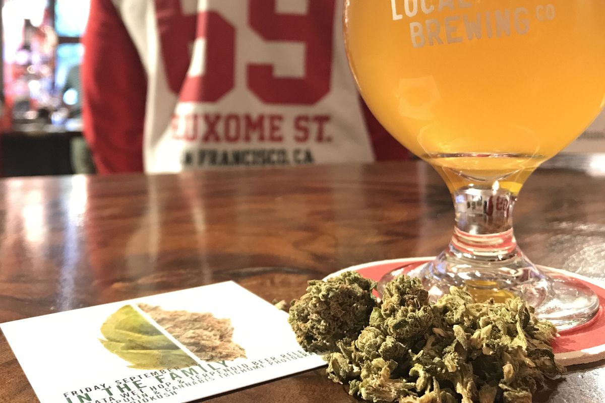 To Brew Dank, Resinous Beer, Local Brewers Turn to Pot - Eater SF