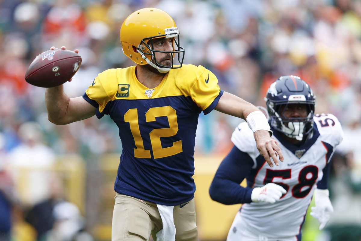 on sale b77fb 1a233 Packers 27, Broncos 16. Denver's three turnovers sealed ...