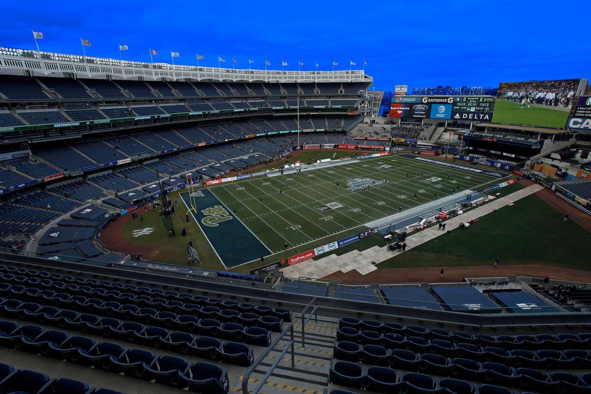Yankee Stadium for the Pinstripe Bowl