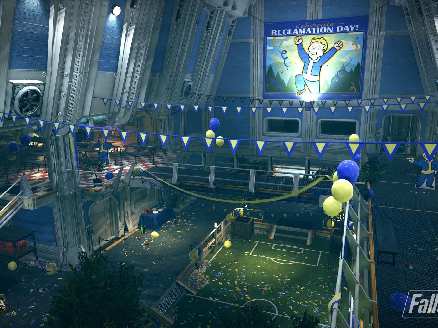 Where Is Vault 76 The Vault In Fallout S New Game Polygon