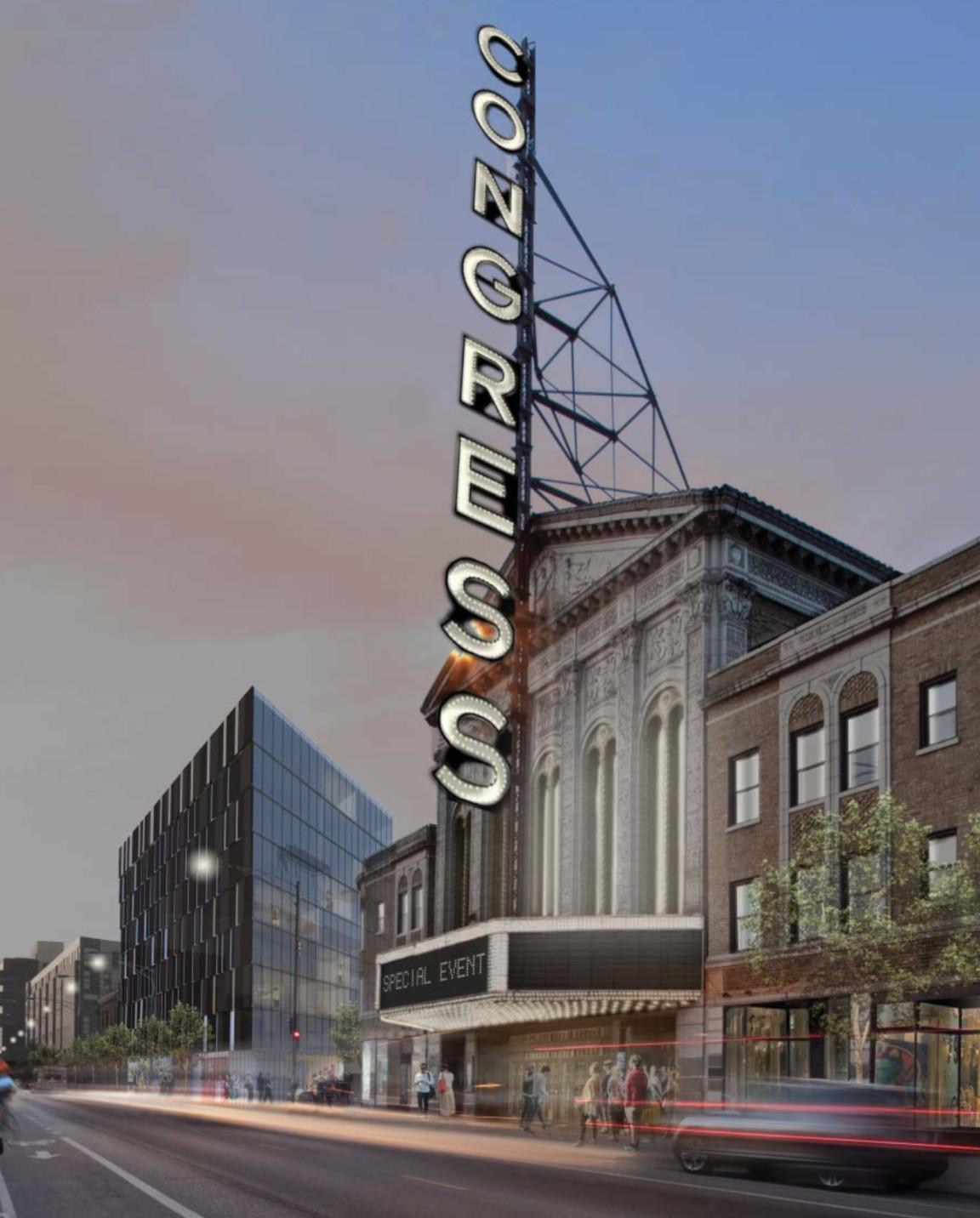 Best Apartment Finder Chicago: Congress Theater Developer Planning More Than 100