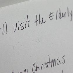 The Williams family's traditions now include the reading of the dozens of cards and letters that detail a tale of service done in Eliza's name by loved ones or even strangers.