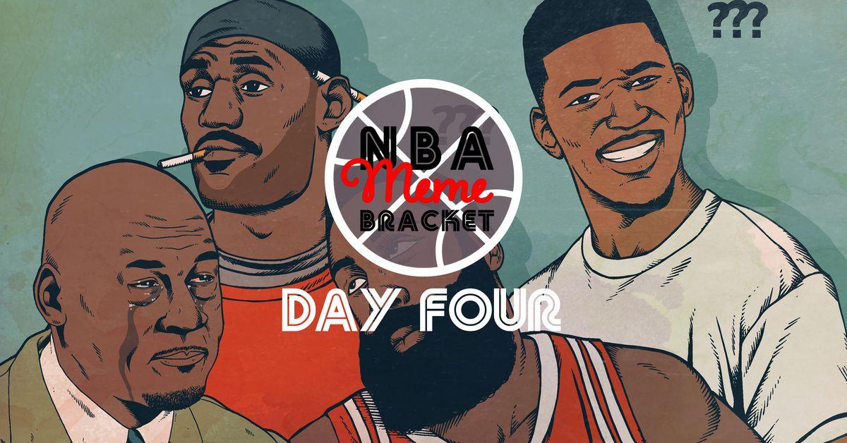 The NBA Meme Bracket, Day 4 – SportsHeadlines News