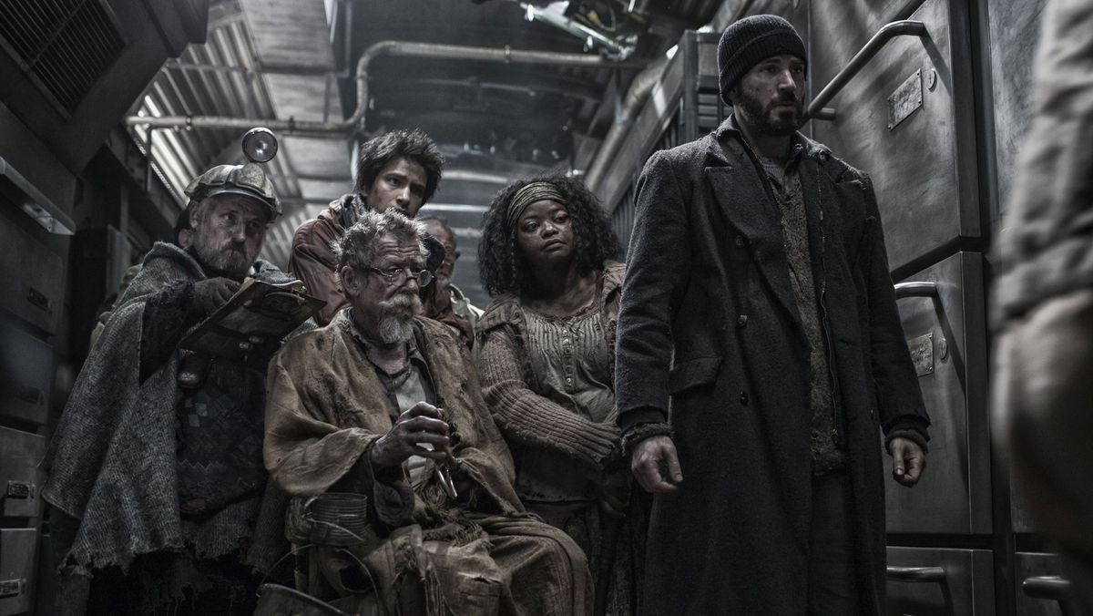 snowpiercer: back of train residents conspire as a group