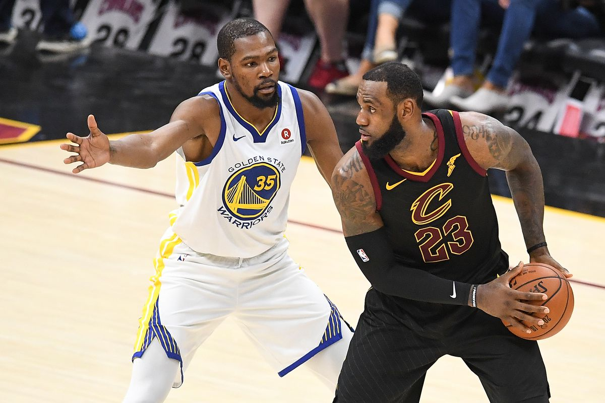 80e2ff1478fc Kevin Durant  loved  that LeBron James joined the Lakers in free ...