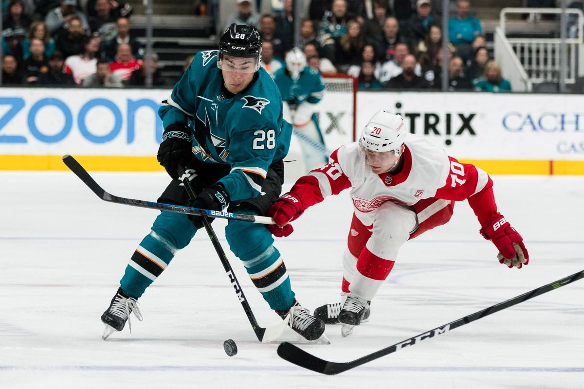 Detroit Red Wings at San Jose Sharks: Lines, gamethread, and