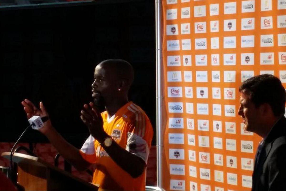 DaMarcus Beasley unveiled as newest Houston Dynamo Designated Player