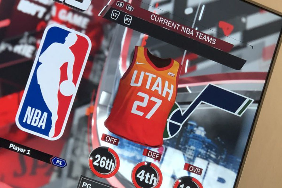 sports shoes af70a 4574b FIRST LOOK: Utah Jazz's Nike City Jersey - SLC Dunk