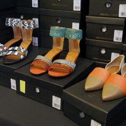 Spring sandals, $100