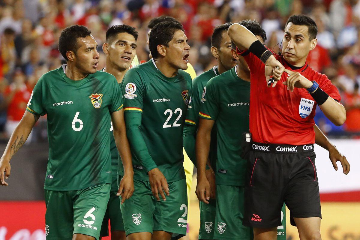 Soccer: 2016 Copa America Centenario-Chile at Bolivia