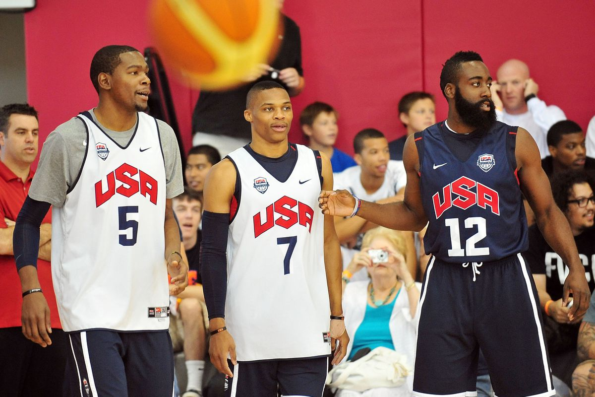 Durant, Westbrook, and Harden are back in action, you say? I say HELL YEAH!
