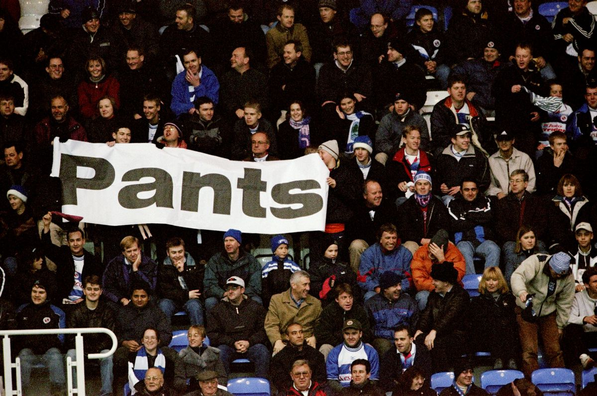 Pants protest