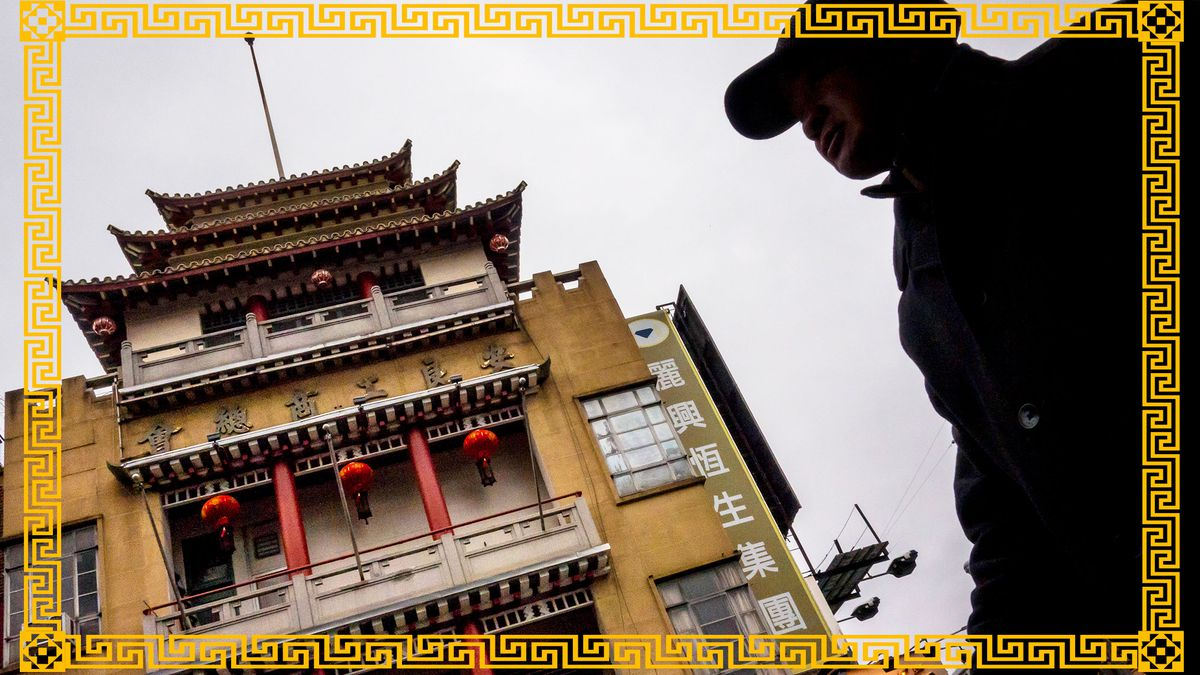 On Leong Tong Building in Manhattan's Chinatown