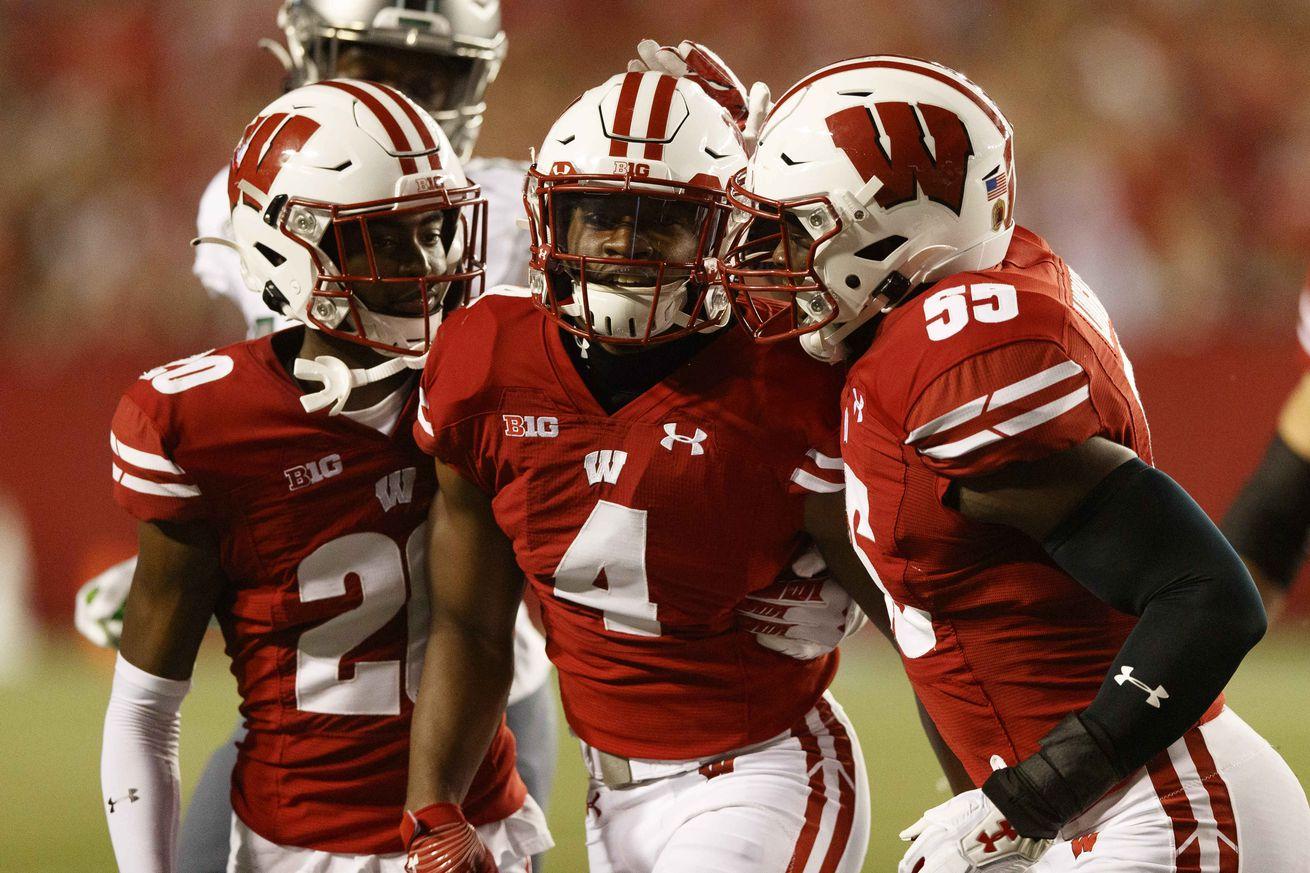 NCAA Football: Eastern Michigan at Wisconsin