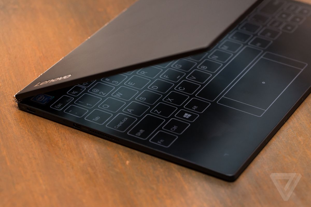 Lenovo To Launch Chrome Os Version Of Yoga Book Next Year The Verge