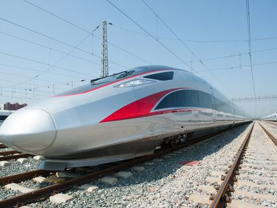 China unleashes world?s fastest bullet train