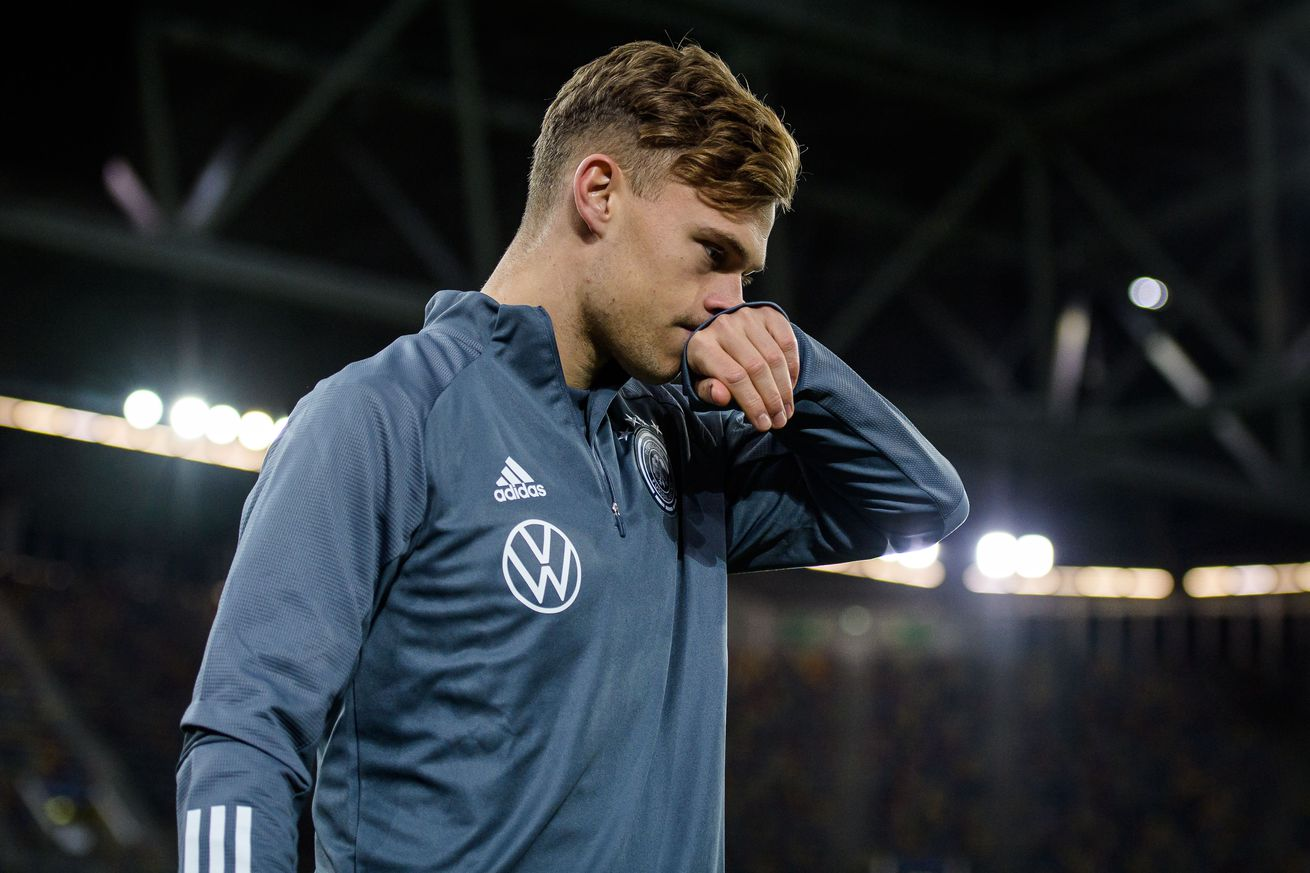 Germany beat Belarus 4-0 on goals by Ginter, Goretzka, and a highlight-reel brace by Kroos