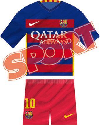 2015 16 FCB Home Kit 1