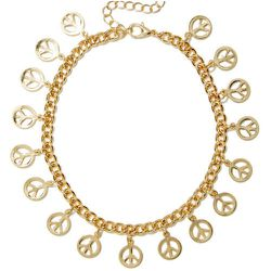 """In Peaces Anklet, <a href=""""http://www.nastygal.com/product/in-peaces-anklet"""">$12</a> at <b>Nasty Gal</b>"""