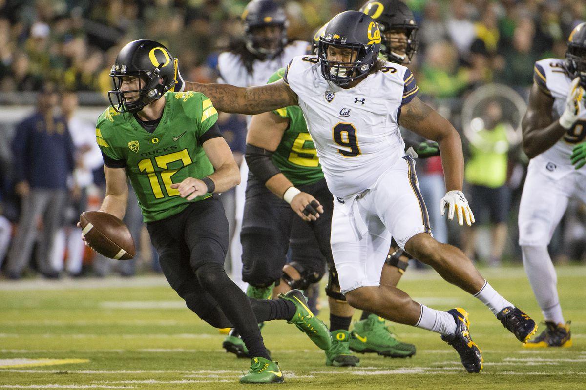 NCAA Football: California at Oregon