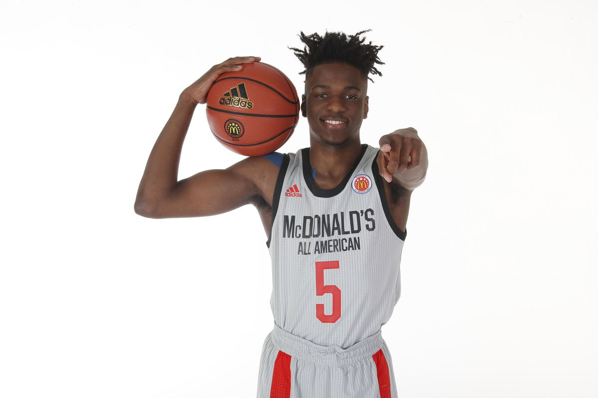 High School Basketball: High School Day of All American Portraits