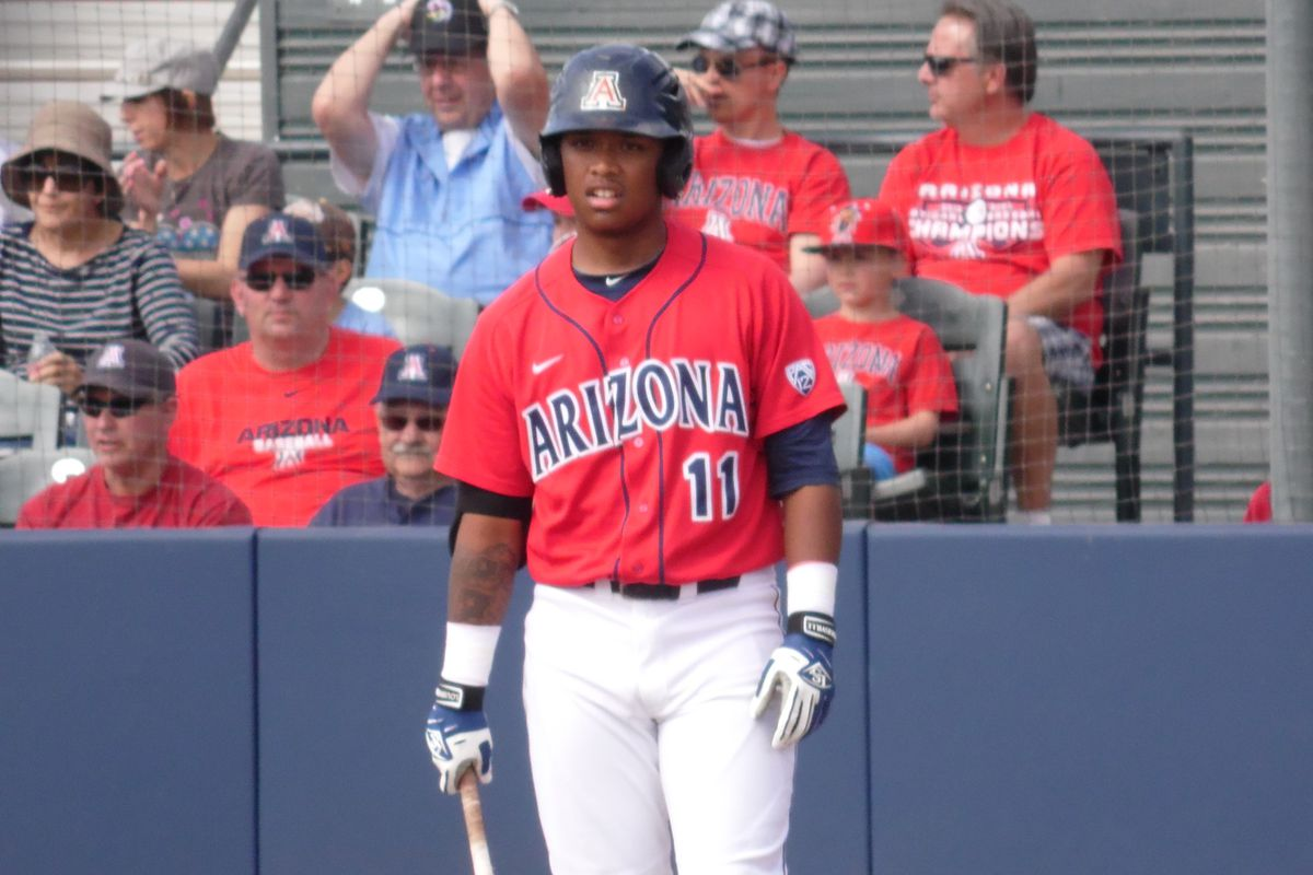 Willie Calhoun started all three games at DH this weekend for Arizona