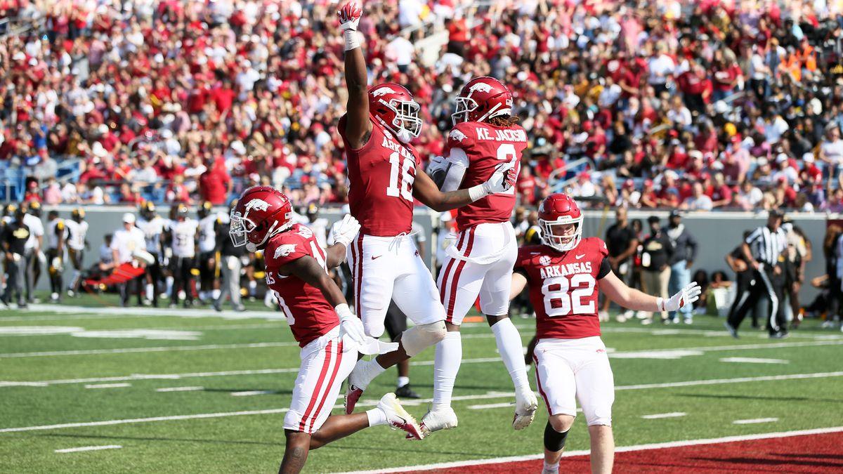 NCAA Football: Arkansas-Pine Bluff at Arkansas