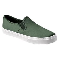"""Gap sateen slip-ons, <a href=""""http://www.gap.com/browse/product.do?cid=1013652&vid=1&pid=989400022"""">$39.95</a>"""