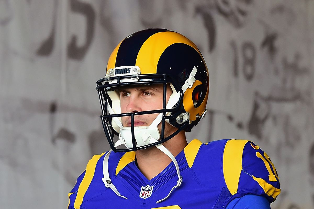 Image result for jared Goff rams 2017