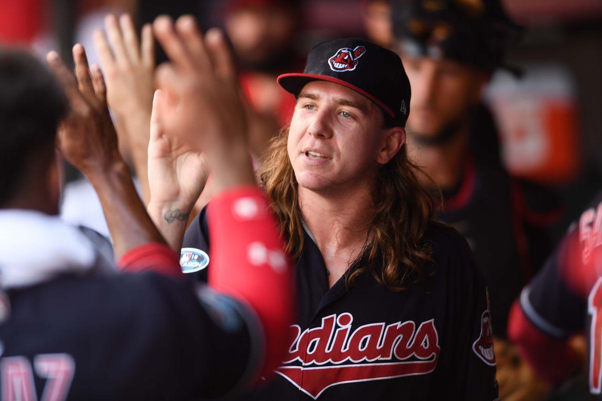 MLB: ALDS-Houston Astros at Cleveland Indians