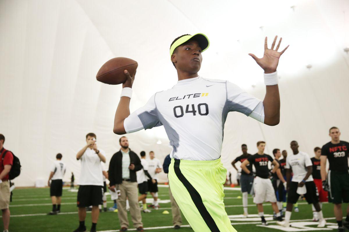 2016 QB prospect Dwayne Haskins, Jr.