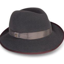 "<strong>Goorin Bros.</strong> Beverly Corleon fedora hat, <a href=""http://www.goorin.com/shape/fedoras/beverly-corleon"">$125</a>"