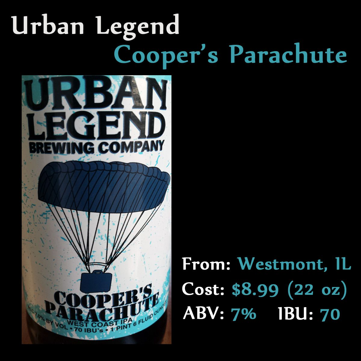 coopers parachute