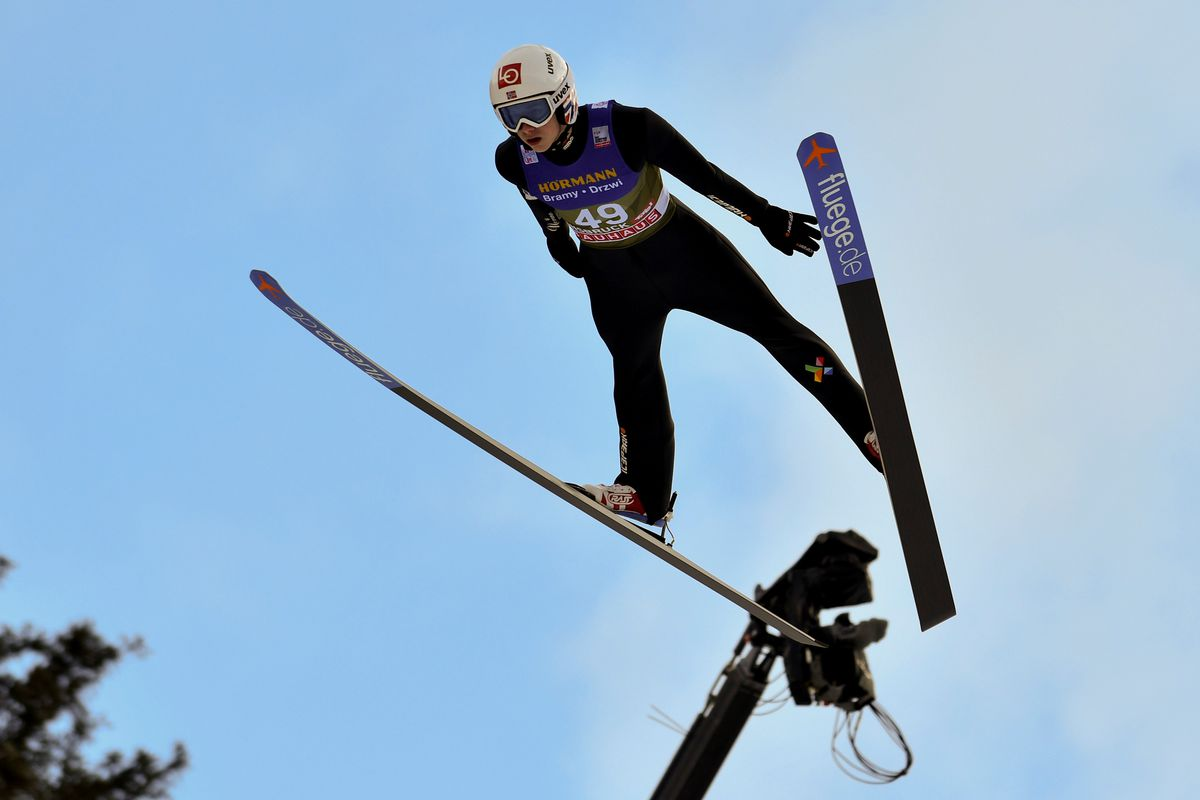 FIS Nordic World Cup - Four Hills Tournament training