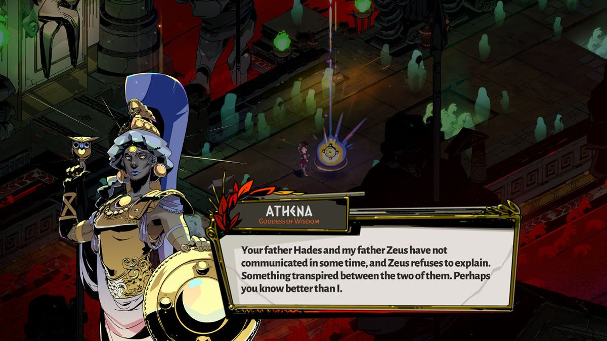 Athena in Hades.