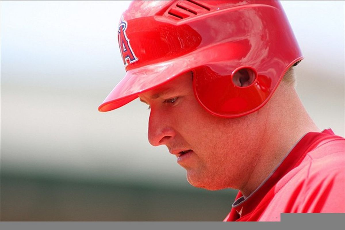 Mark Trumbo hits home runs farther than you.