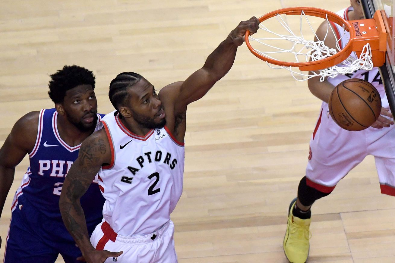 usa today 12601349.0 - Kawhi Leonard is showing why the Raptors' trade for him was no gamble at all